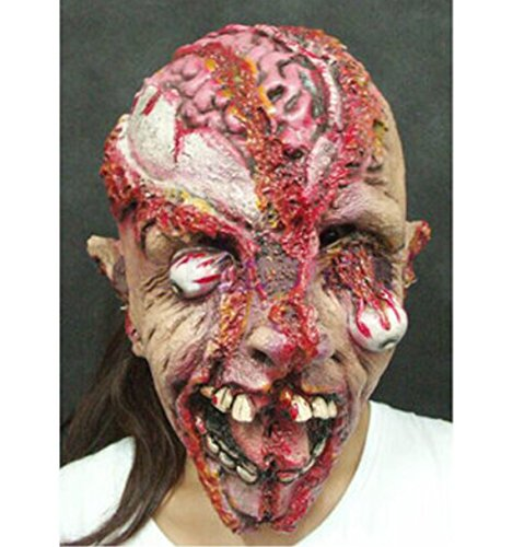 Halloween Party Decoration Terror Rotten Face Mask by (Tower Of Terror Halloween Costume)