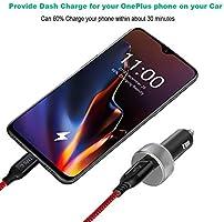 Cargador de Coche Rápido, iMangoo Fast Car Charger Adapter y ...