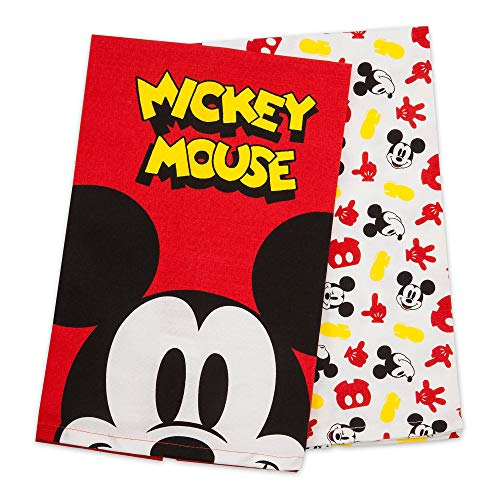 Disney Mickey Mouse Kitchen Towel Set Eats Mutli