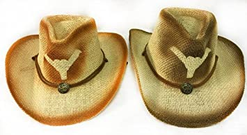 6c609fc12e0 DD Cowboy Hat With Bull Horn And Medallion(pack Of 12)