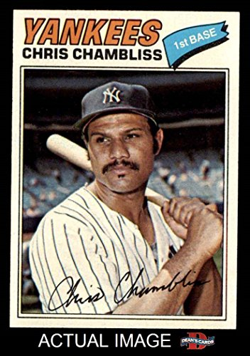 1977 Topps # 220 Chris Chambliss New York Yankees (Baseba...