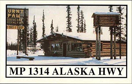 burnt-paw-mp-1314-alaska-highway-tok-original-vintage-postcard