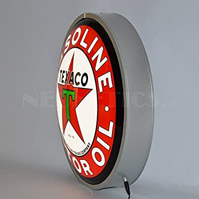 Neonetics Texaco Motor Oil Backlit LED Lighted Sign, 15""