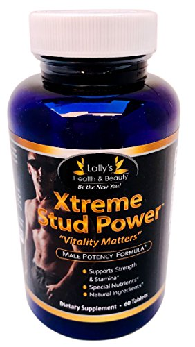 XTREME STUD POWER, Vitality Matters, 2+ INCHES IN 60 DAYS! PENIS ENLARGEMENT PILL, ENLARGEMENT BOOST, IMPROVE STRENGTH MUSCLE GROWTH,HORNY GOAT WEED, INCREASE ENERGY AND STAMINA 100%, MADE IN USA (Penis Enhancement Pill)