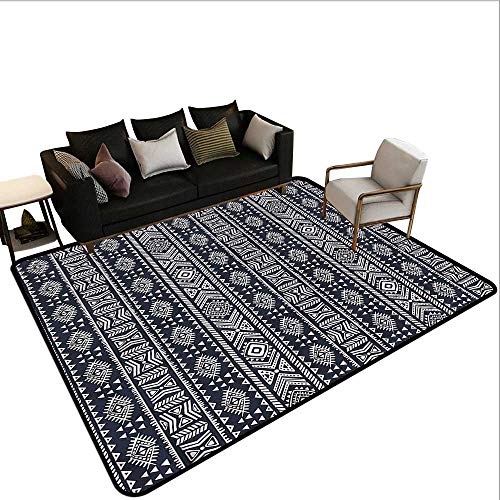 African,Office Chair Floor Mat Foot Pad 48
