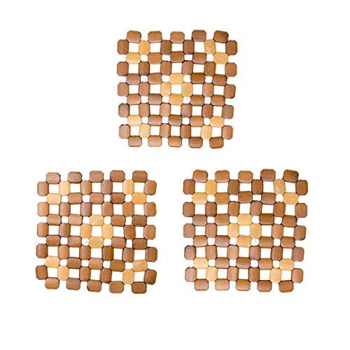 (Bamboo Trivets A Set Of 3 By TOFL (3, 60 rectangle))