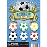 1' Self Vend Soccer Balls Assorted, Vending, Party - 250 Count +...