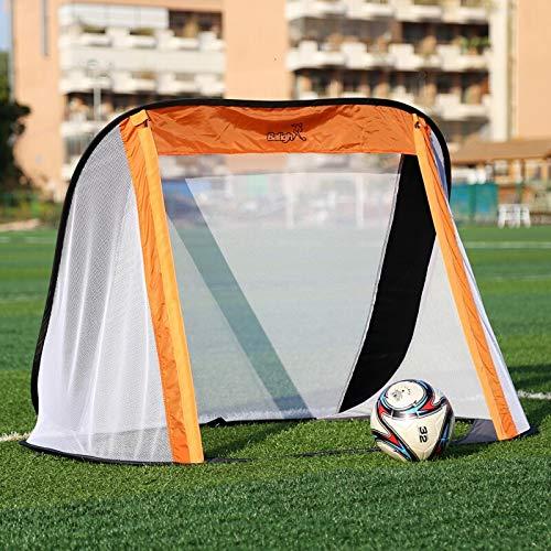 - AjaxStore - 130x80x95CM Oxford Cloth Portable Soccer Goal Post Net Utility Football Soccer Goal Post Outdoor Indoor Sports Training