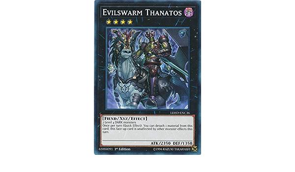 LEHD-ENC36 - Common 3 x Evilswarm Thanatos 1st Edition