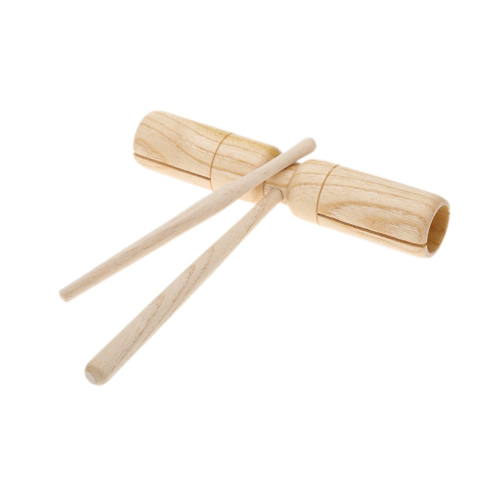 SymWell(TM) Little Wooden Crow Sounder Two Tone Great Material Percussion Instrument Exquisite Kid Children Musical Instrument