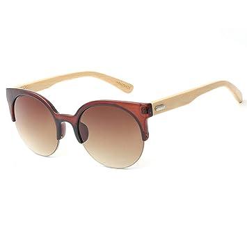 Sunglasses Gafas de Sol Vintage de Madera de bambú con Ojo ...