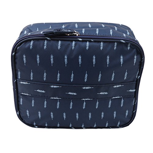 CH Multifunction Portable Travel Toiletry Bag Cosmetic Makeup bag (White - Carolina Bags Herrera