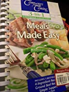 Meals Made Easy (Ground Beef Recipes,…