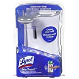 Lysol No-Touch Automatic Hand Soap Dispenser-White- 1 Count