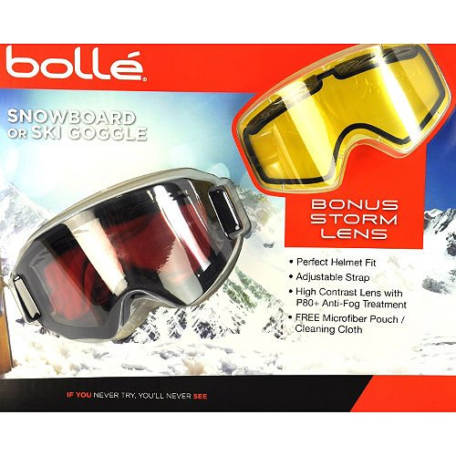 Bolle Yellow Lens (BOLLE Snowboard or Ski GOGGLE)