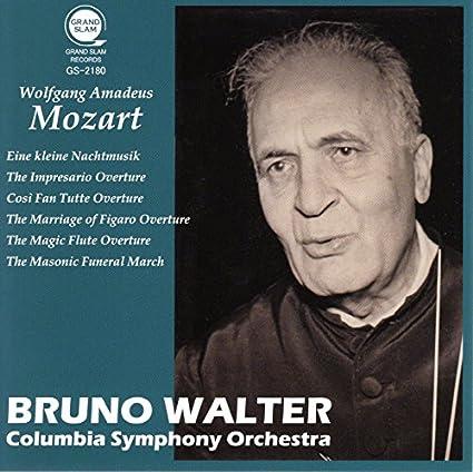 モーツァルト : セレナード 「アイネ・クライネ・ナハトムジーク」 & 序曲集 (Mozart : Eine kleine Nachtmusik  & Overtures / Bruno Walter | Columbia Symphony Orchestra) [CD]