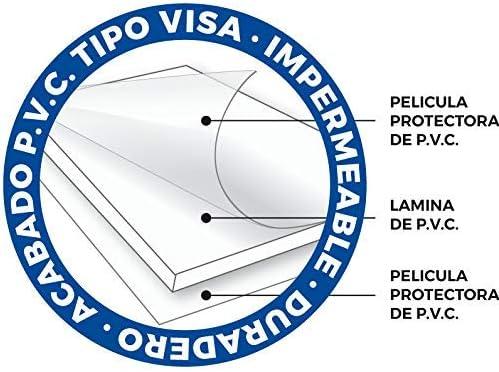 Cartel resistente PVC ideal para colgar y advertir Se/ñaletica de aviso OBLIGATORIO LAVARSE LAS MANOS