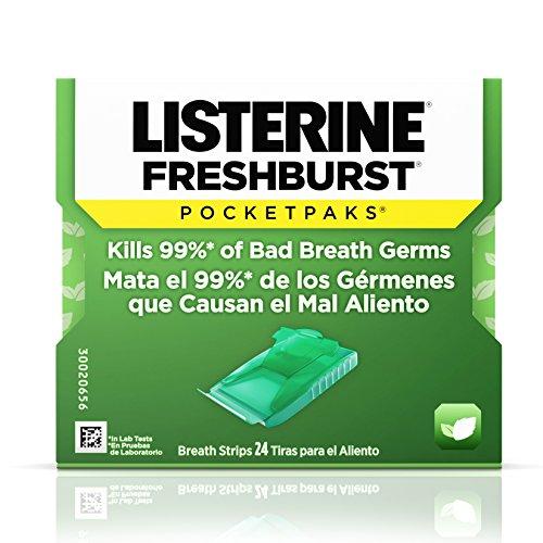 Galleon - Listerine Freshburst Pocketpaks Breath Strips For