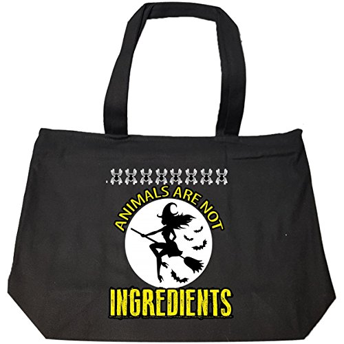 Animals Are Not Ingredients Awesome Halloween Gift 2017 – Tote Bag With Zip