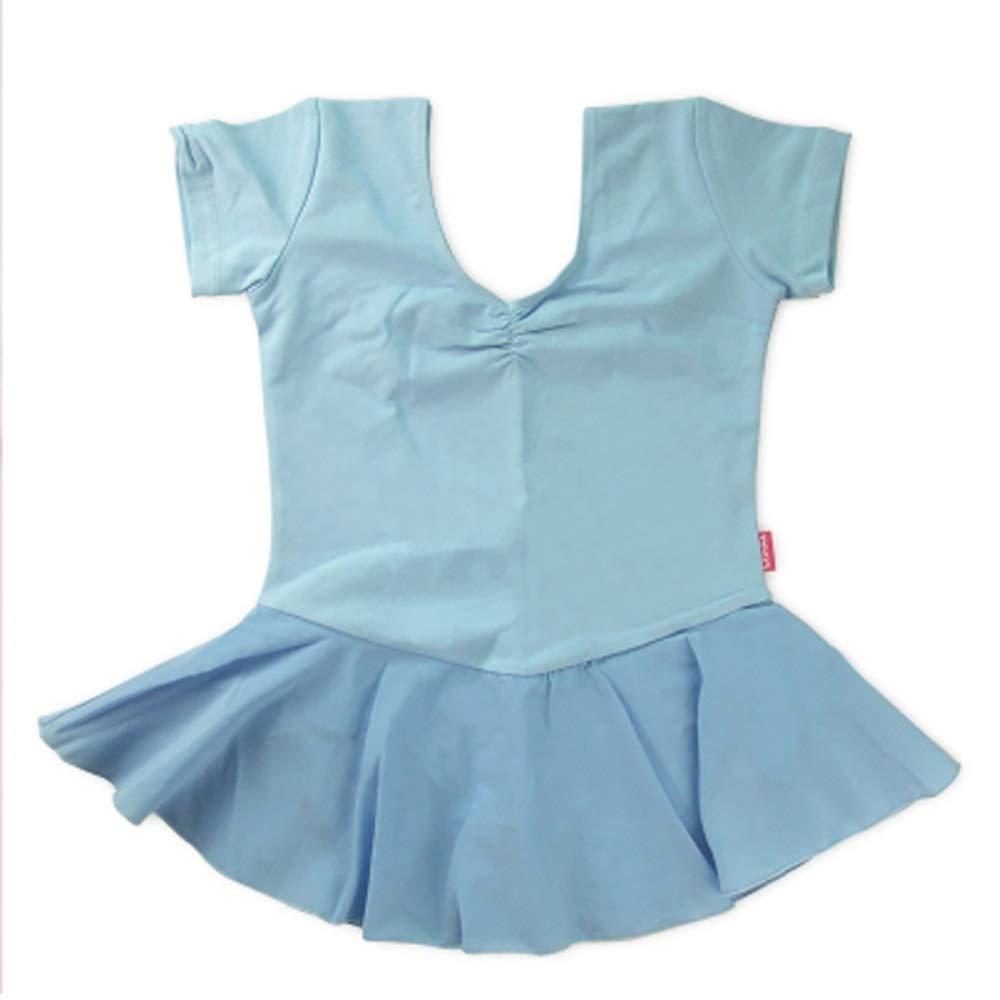 Jian E& Tanzbekleidung-Kinder Tanzbekleidung Mädchen Kurzarm Ballett Übung Kleidung Kinder Tanzrock Gymnastikkleidung B07P53H6G5 Bekleidung Kaufen