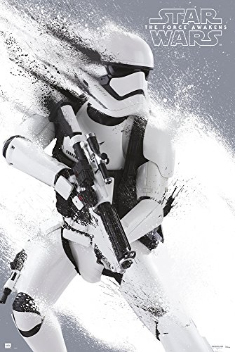 Star Wars: Episode VII - The Force Awakens - Movie Poster / Print (Stormtrooper) (Size: 24