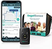 AngelSense Personal GPS Tracker for Kids, Teen, Autism, Special Needs, Elderly, Dementia - 2-Way Auto-Answer S