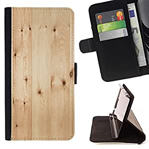 Light Wood Flooring Pattern - Modelo colorido cuero de la carpeta del tirón del caso cubierta piel Holster Funda protecció Para Apple iPhone 5 / iPhone 5S