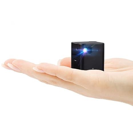 Amazon.com: P6 Mini DLP Proyector de vídeo, homeke pico ...