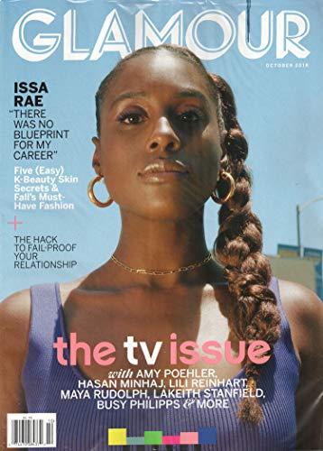 Glamour Magazine October 2018   The TV Issue – Issa Rae