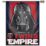 MLB Minnesota Twins Star Wars Darth Vader Vertical Flag, 27 x 37-Inch