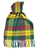 Lambswool Scottish Macmillan Old Modern Tartan Clan Scarf Gift