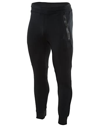 Nike Mens Air Jordan Lite Fleece Jogger Pants Black Medium