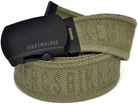 Bikkembergs Cinturón Hombre algodón Belt Men DB Altura 4 d1812 ...