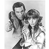 #9: Get Smart 8x10 Photo Don Adams & Barbara Feldon Both on Shoe Phones kn