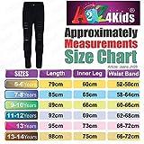 Kids Girls Skinny Jeans Denim Ripped Fashion