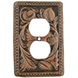Tooled Leather Rustic