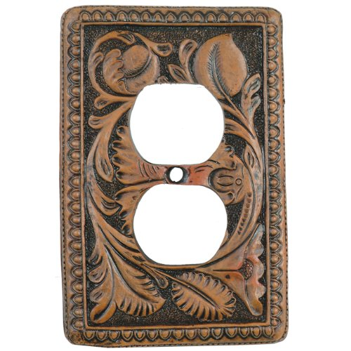 - Tooled Leather Rustic