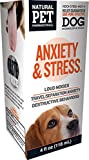 Natural Pet Pharmaceuticals by King Bio Anxiety and Stress Control for Dog, 4-Ounce