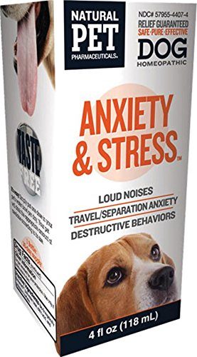 Natural Pet Pharmaceuticals By King Bio Anxiety And Stress Control For Dog  4 Ounce
