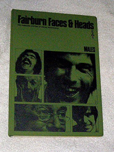 Fairburn Faces & Heads- Set 2, Book 1: MALES (The Fairburn System of Visual References, Set 2, Book 1 Males)