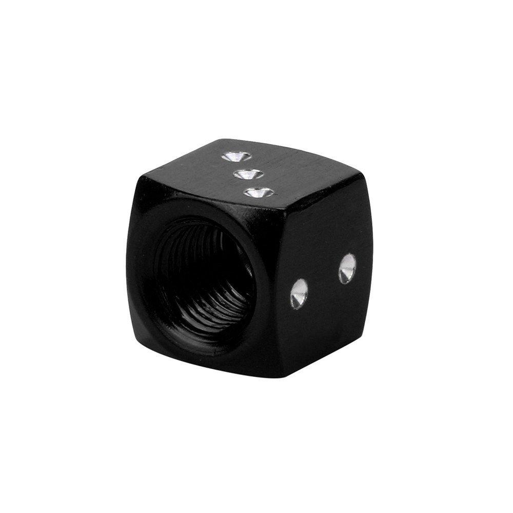squarex 4pc d/és la poussi/ère Bouchons de Valve de Voiture Moto Voitures /électriques 80/s Fantaisie Fun r/étro