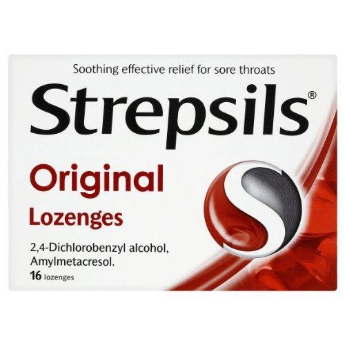 Strepsils Throat Sweets Original 16's by Strepsils