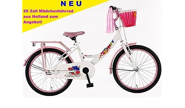 Bicicleta para niña (20 pulgadas Umit Alpin Color Rosa De Color ...