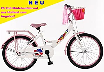 ab8ad47de - Bicicleta para niña (20 pulgadas Umit Alpin Color Rosa De Color Blanco +  Kit de invierno): Amazon.es: Deportes y aire libre