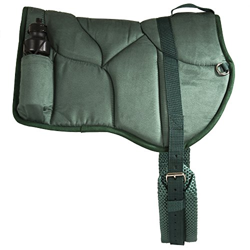 Best Friend Western Style Bareback Saddle Pad, Hunter Green ()
