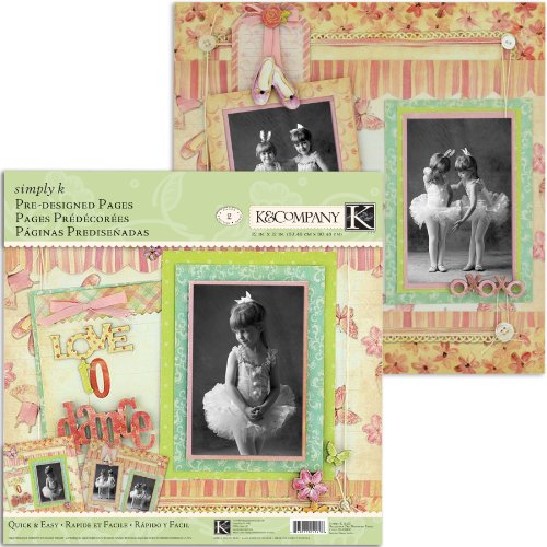 K&Company Simply K Ballerina Pre-Designed Pages
