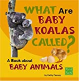 img - for What Are Baby Koalas Called?: A Book about Baby Animals (Why in the World?) book / textbook / text book