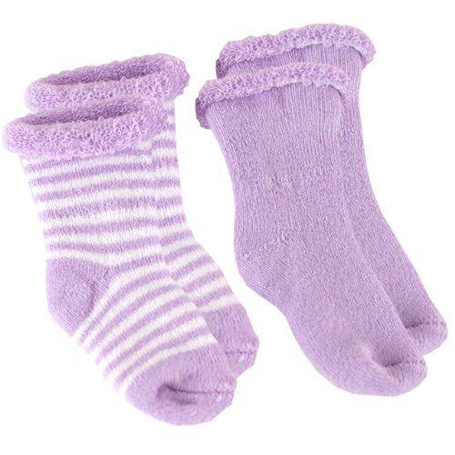 Kushies SK670 Newborn Terry Socks