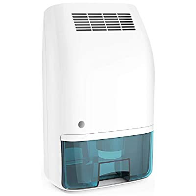 .com - Afloia Electric Home Dehumidifier, Portable Dehumidifier for Home Bedroom 700ml (24fl.oz) Capacity up to (215 sq ft) -