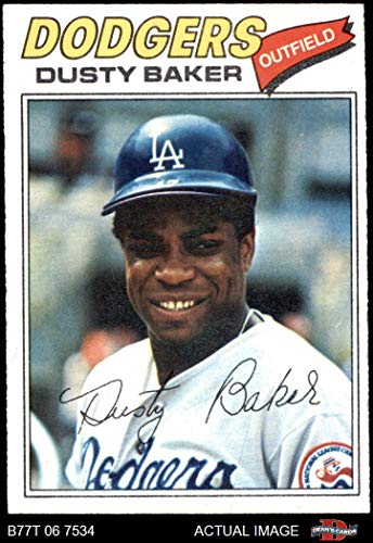 1977 Topps # 146 Dusty Baker Los Angeles Dodgers (Baseball Card) Dean's Cards 5 - EX Dodgers